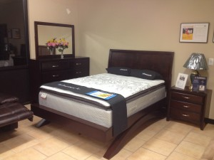 Arch Platform Queen Set - Dresser/Mirror/NS/ Queen Bed - $1,500 (Display)