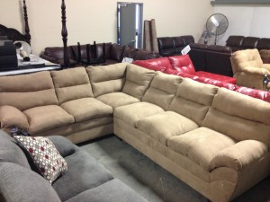 9515 Latte Sectional