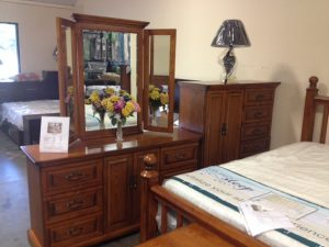 Complete Set - $2,199 includes Bed, Dresser, Mirror, (2) Nightstands & Chest (willing to separate)