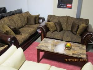 Leather & Chenille S/L Set - $1,399