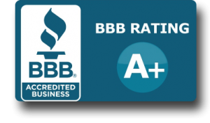 A+ Rating by the Northern CA BBB