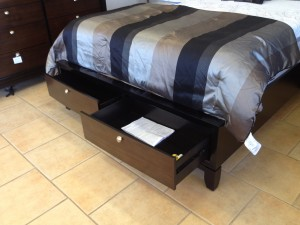 516 Q Stor Bed Drawer Extended