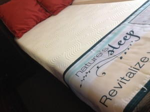 "Nature's Sleep 8"" Gel Memory Foam Queen - Was $1,300; Presidents Day Special - $599"